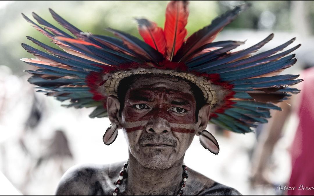 Indigena at Foro Social Mundial – Manaus 2009