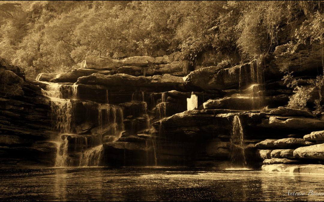 Angel in the Fumacinha River. Brasil